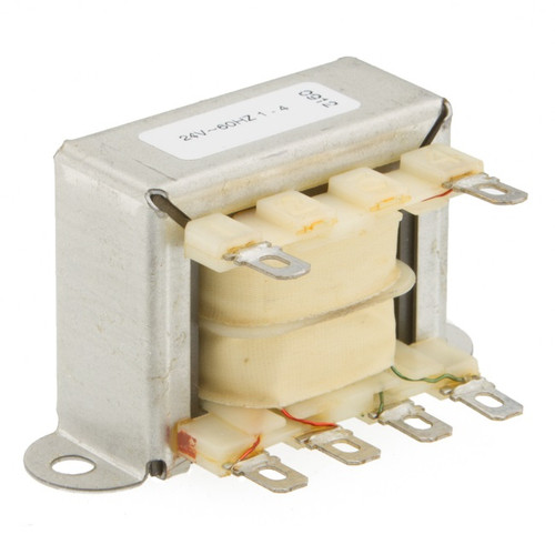 CSLP-24-602: Single 24V Primary, 12.0VA, Series 16VCT @ 800mA, Parallel 8V @ 1.6A