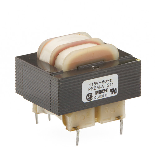 SLP-24-401: Single 24V Primary, 2.4VA, Series 12.6VCT @ 200mA, Parallel 6.3V @ 400mA