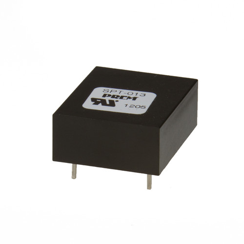"SPT-013-UL: 1.030"" L x 0.890"" W x 0.410"" H, Safety Critical Coupling Transformer"
