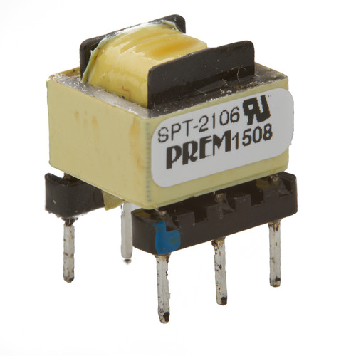 SPT-2106-UL: 600Ω:600Ω Impedance, 1:1.0523 Turns Ratio, Coupling Transformer
