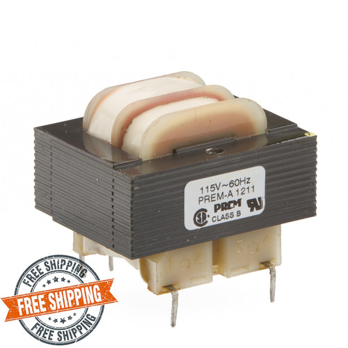 SPW-501-S: Single 115V Primary, 6.0VA, Series 12.6VCT @ 500mA, Parallel 6.3V @ 1.0A
