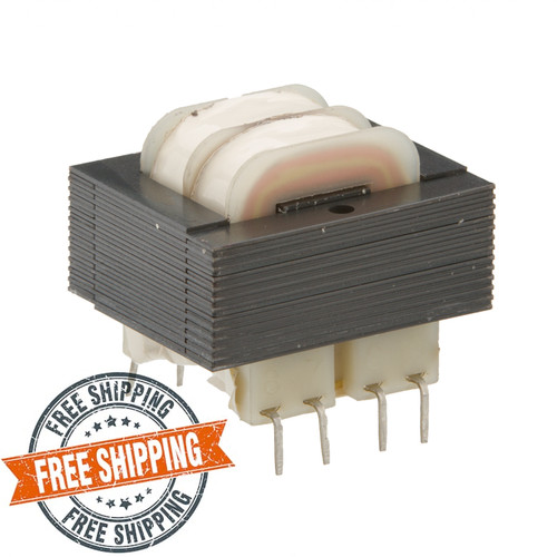 SPW-503-D: Dual 115/230V Primary, 6.0VA, Series 20VCT @ 300mA, Parallel 10V @ 600mA