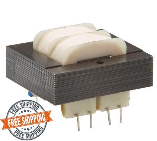 SPW-606-D: Dual 115/230V Primary, 12.0VA, Series 36VCT @ 350mA, Parallel 18V @ 700mA