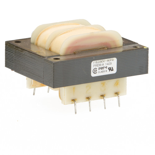 SPW-623-D: Dual 115/230V Primary, 36.0VA, Series 20VCT @ 1.8A, Parallel 10V @ 3.6A