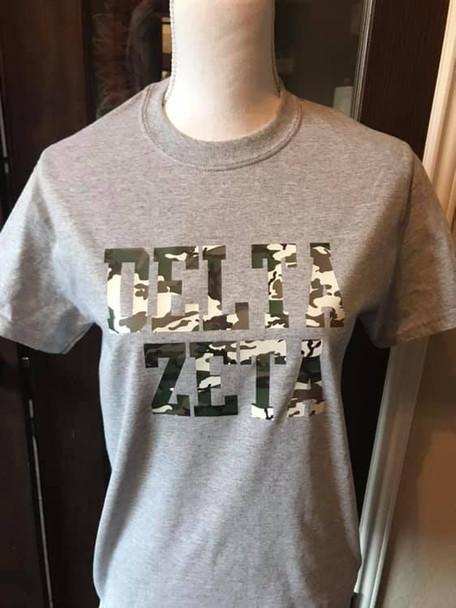 Camo Sorority Shirt