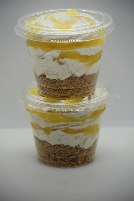 Lemon Meringue Cheesecake Sundae