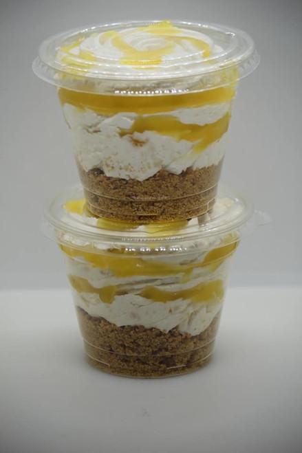 Lemon Meringue Cheesecake Sundae