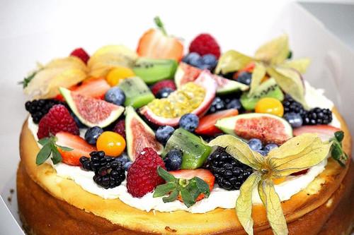 Baked Celebration Cheesecake