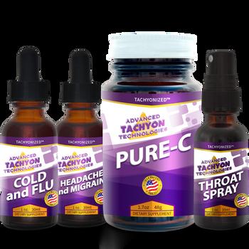 Fever-Headache-Throat and Sinus Virus Kit