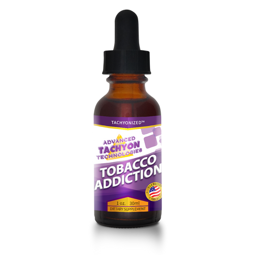 Tachyonized Tobacco Addiction Remedy
