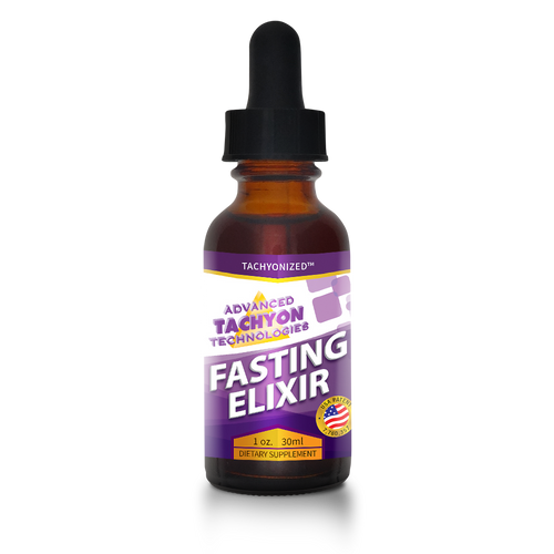 Tachyonized Fasting Elixir is a blend of organic, wildcrafted herbs. A Tachyon energy health product that supports your body during fasting.