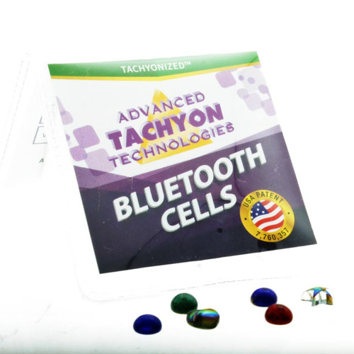 Tachyon Energy Products like Mini Phone-Cells turn the disruptive wave patterns of harmful EMFs into a coherent field protecting the user.