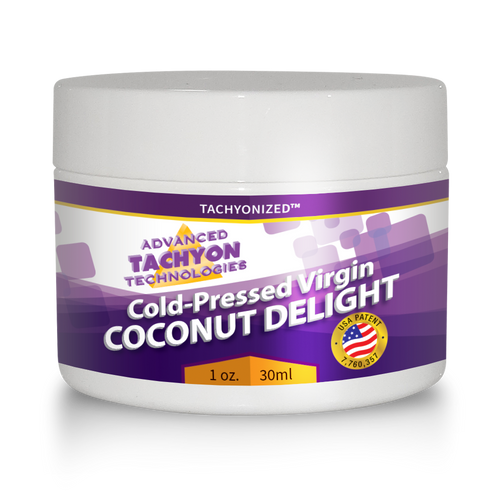 Cold-Pressed Virgin Organic Coconut Delight 1 oz.