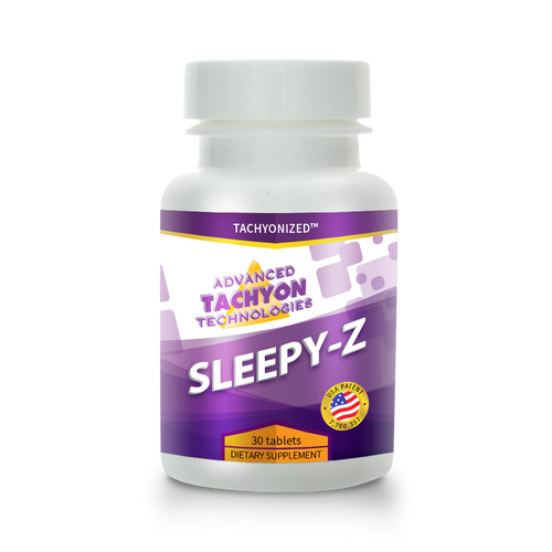 Sleepy-Z is an effective, side-effect-free sleep aid that encourages the system's natural production of melatonin.  Safe and effective, a holistic approach to sleeping health.