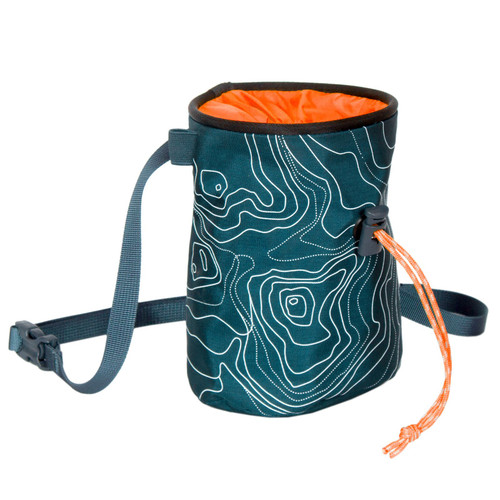Blue Ice Poff Chalk Bag - Shaded Spruce