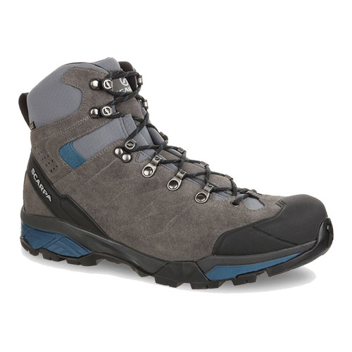 Scarpa ZG Trek GTX - Men's - Titanium/Lake Blue