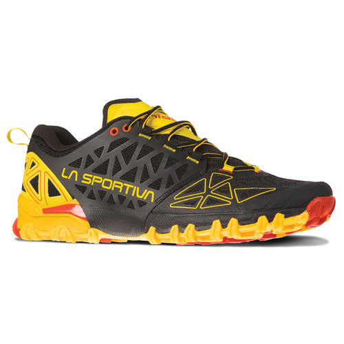 La Sportiva Bushido II - Men's - Black/Yellow