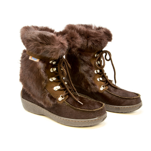 Pajar Bionda Boot - Women's - Brown Rabbit