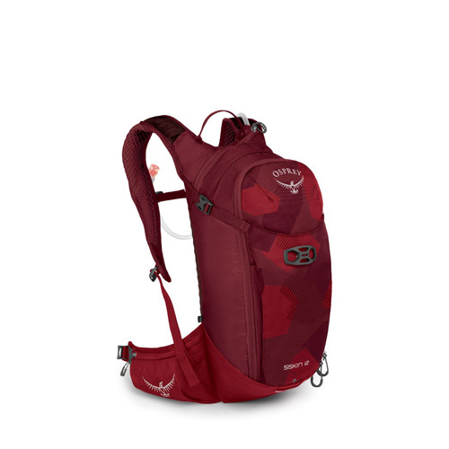 Osprey Siskin 12 Mountain Bike Hydration Pack - Molten Red