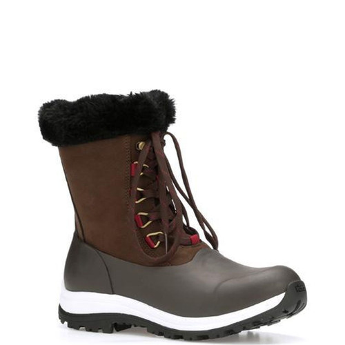 Muck Apres Lace Arctic Grip Boots - Women's - Brown