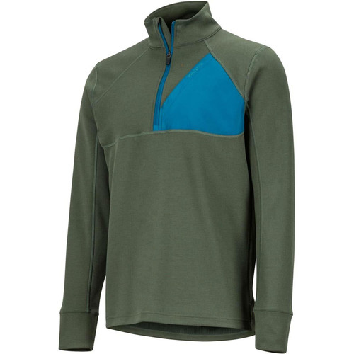 Marmot Hanging Rock 1/2 Zip Jacket - Men's - Dark Steel/Moroccan Blue