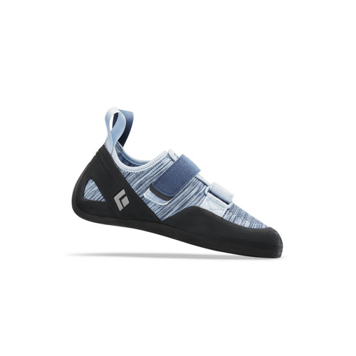 Black Diamond Momentum Velcro Climbing Shoe - Women's - Blue Steel
