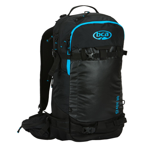 BCA Stash 30 Ski Backpack - Blue/Black