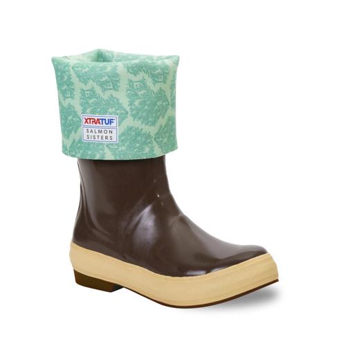 "Xtratuf 15"" Salmon Sister Legacy Boot - Women's - Chocolate/Kelp"