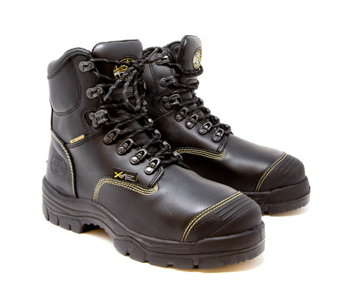 "Oliver 55 Series 6"" Leather Steel Toe Work Boots - Men's"