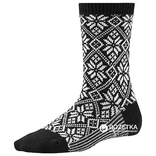 Smartwool Traditional Crew Sock - Snowflake