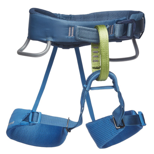 Black Diamond Momentum Kid's Harness - Kingfisher