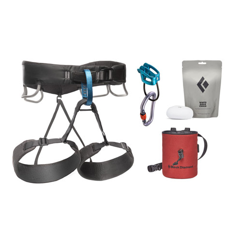 Black Diamond Momentum Harness Package - Men's - Anthracite