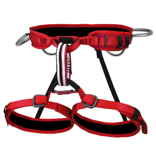 Metolius Safe Tech Trad Climbing Harness - Red