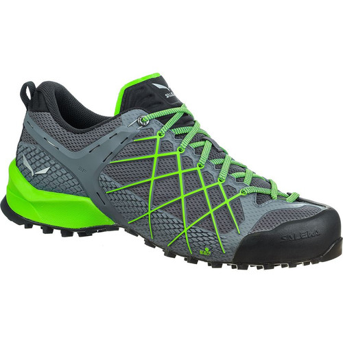 Salewa Wildfire - Men's - Flintstone/Fluo Green