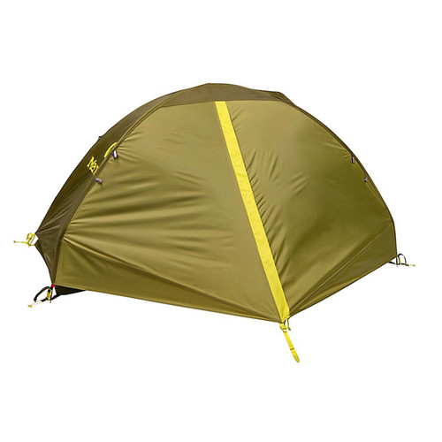 Marmot Tungsten 1 Person Camping Tent w/ Footprint - Green Shadow/Moss