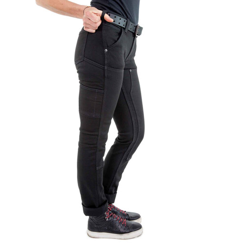 Dovetail Workwear Maven Slim Pant - Women's - No Fade Black