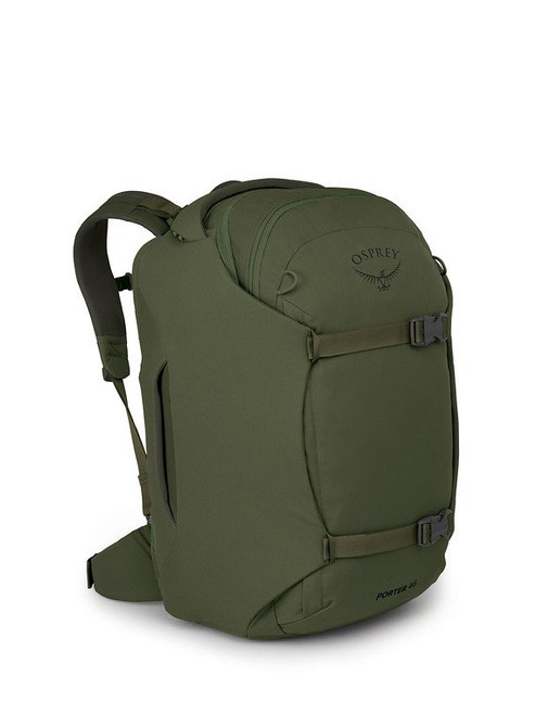 Osprey Porter 46 Travel Duffel Backpack - Haybale Green