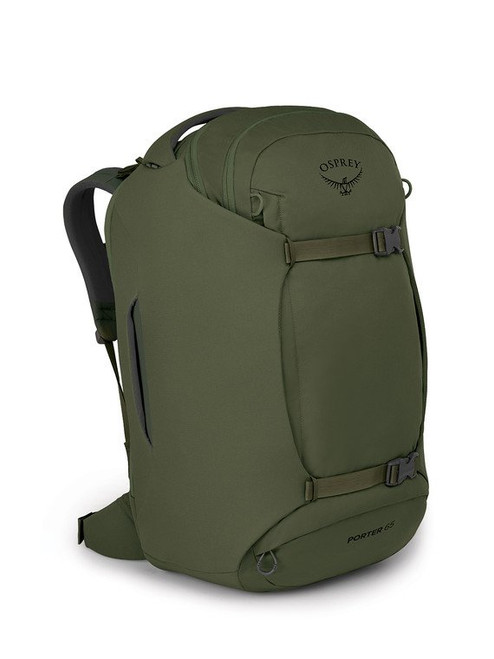 Osprey Porter 65 Travel Duffel Backpack - Haybale Green