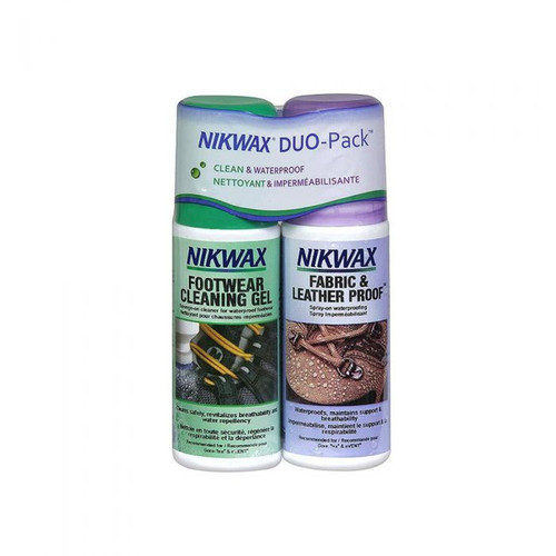 Nikwax Footwear Cleaning Duo Pack