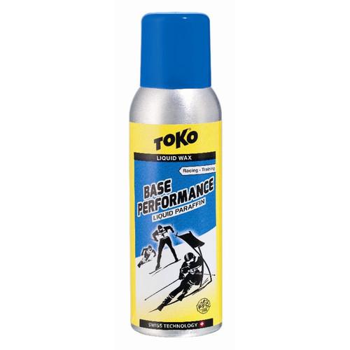 Toko Base Performance Blue Liquid Ski Wax - 100ml