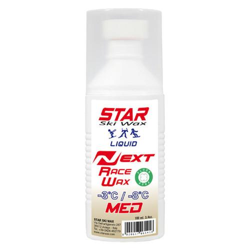 Star NEXT Medium Liquid Fluoro-Free Ski Glide Wax