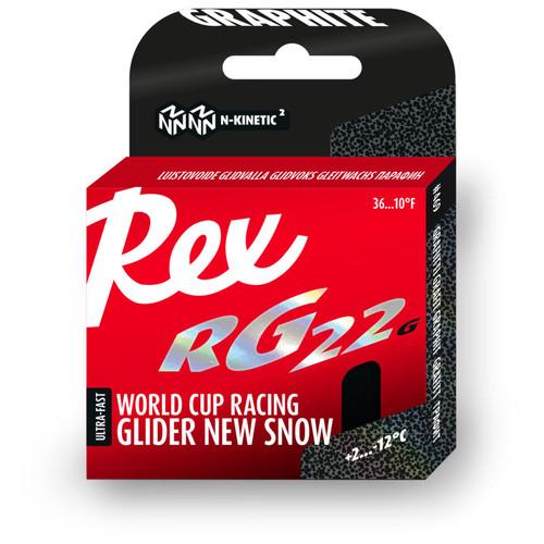 Rex RG22G Graphite Ski Glide Wax - 40g