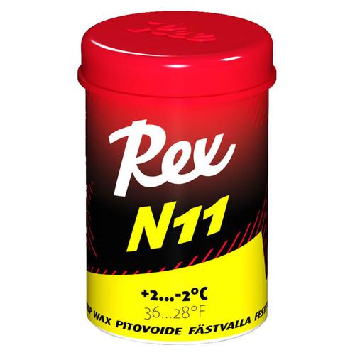 Rex N11 Yellow Nordic Kick Wax