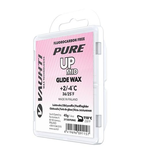 Vauhti Pure Up Mid Ski Glide Wax - 45g