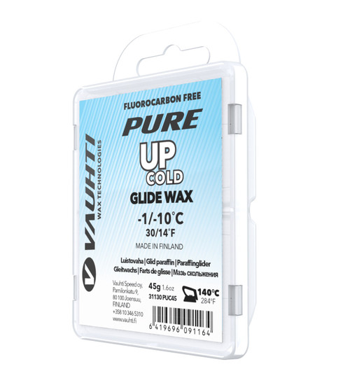 Vauhti Pure Up Cold Ski Glide Wax - 45g