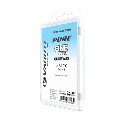 Vauhti Pure One Cold Ski Glide Wax - 60g