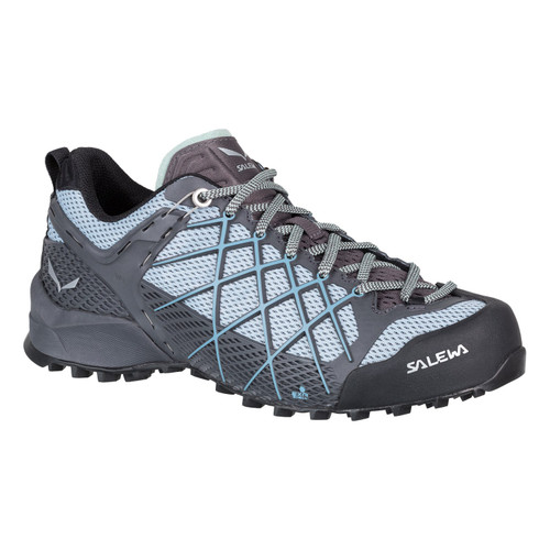 Salewa Wildfire Approach Shoes - Women's - Magnet/Blue Fog