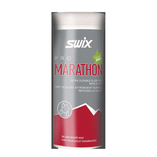 Swix Marathon Powder Black Non-Fluoro Ski Race Wax 40g