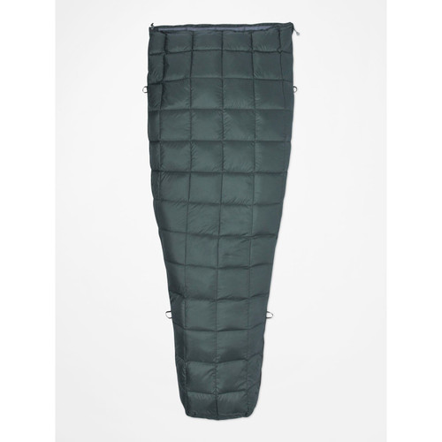 Marmot Micron 50 Degree Down Sleeping Bag - Crocodile/Grey Storm
