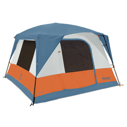 Eureka Copper Canyon LX 4 Person Family Camping Tent - Blue Heaven Orange